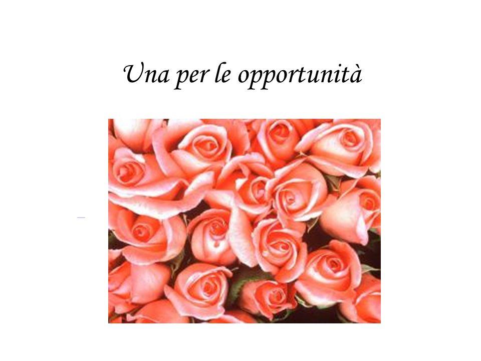 Una per le opportunità