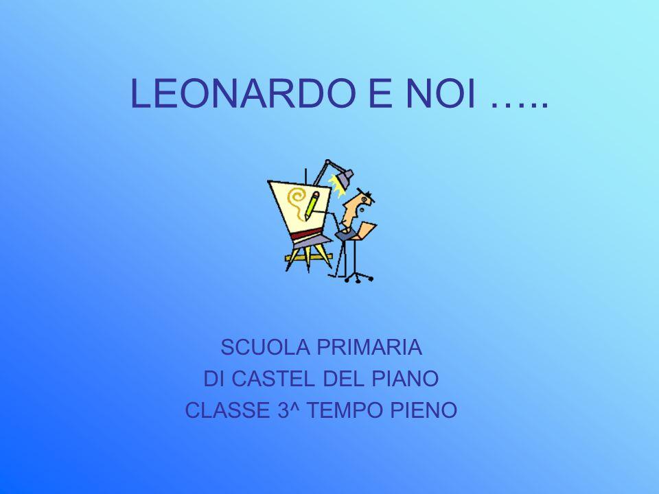 SCUOLA PRIMARIA DI CASTEL DEL PIANO CLASSE 3^ TEMPO PIENO