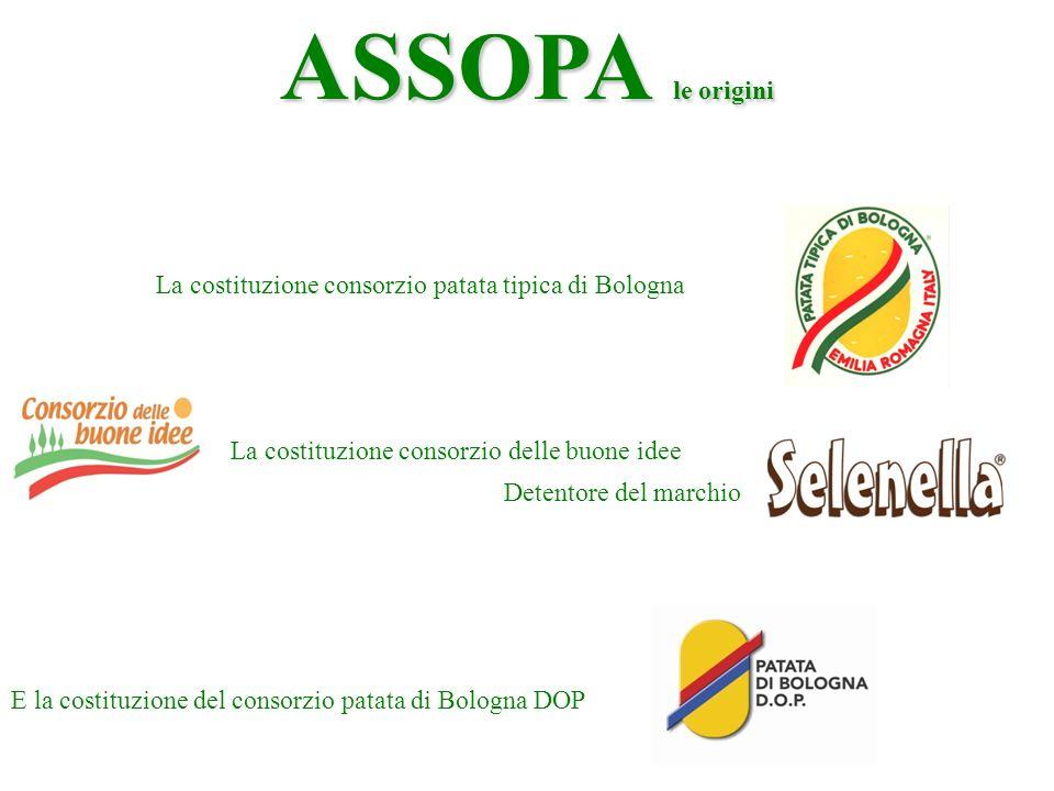 ASSOPA le origini La costituzione consorzio patata tipica di Bologna