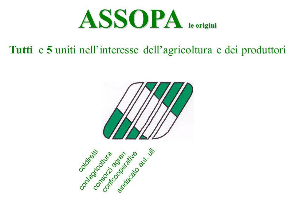 Tutti e 5 uniti nell'interesse dell'agricoltura e dei produttori