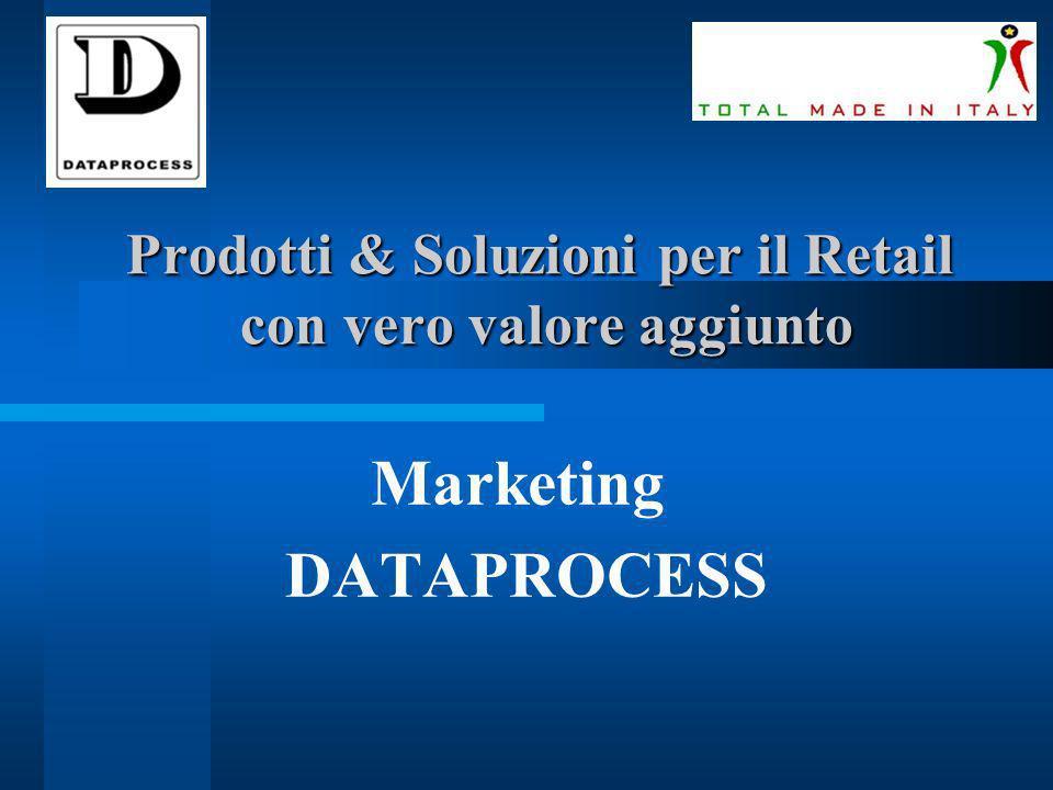 Prodotti & Soluzioni per il Retail con vero valore aggiunto