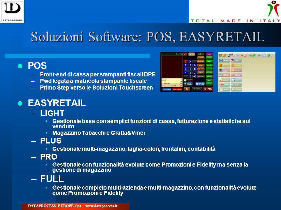 Soluzioni Software: POS, EASYRETAIL