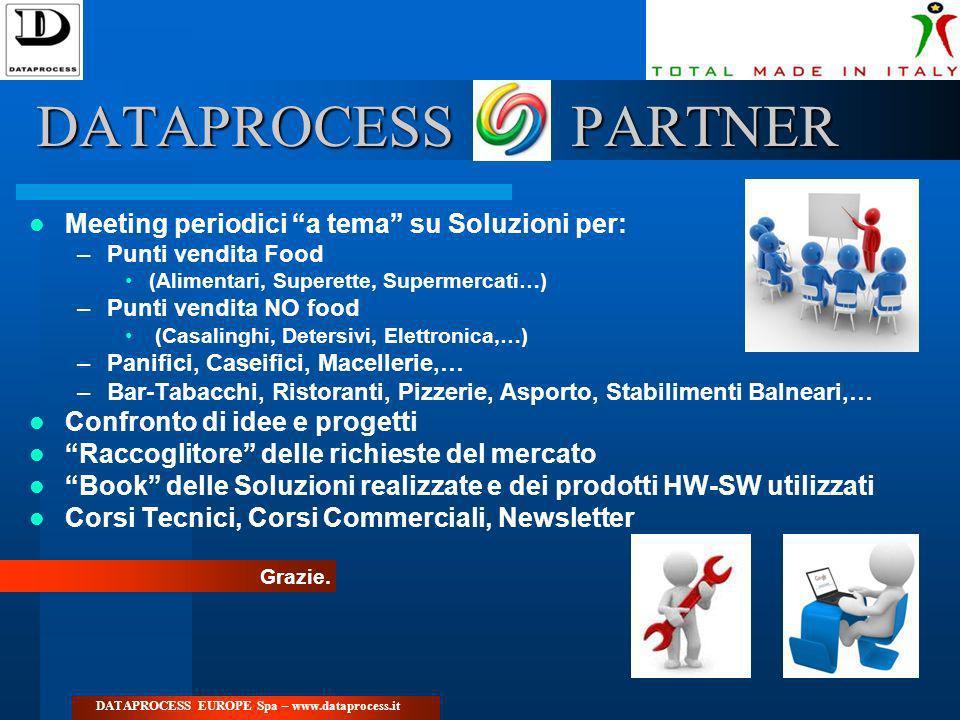 DATAPROCESS PARTNER Meeting periodici a tema su Soluzioni per: