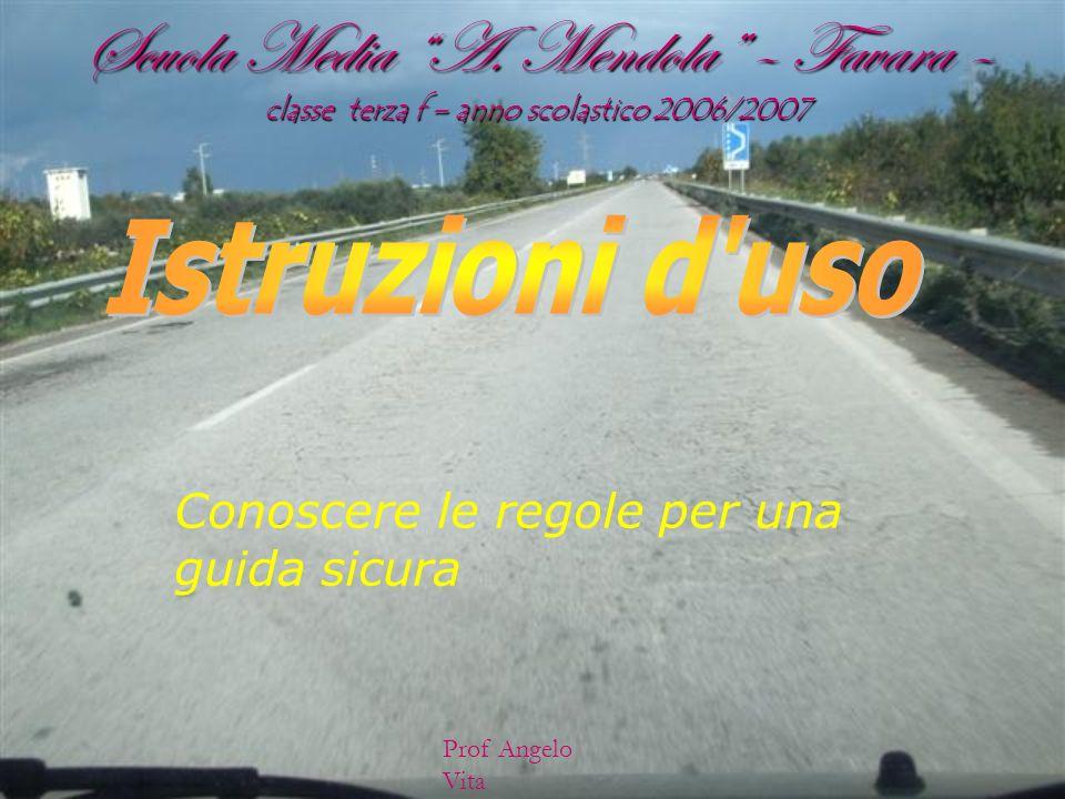 Scuola Media A. Mendola – Favara – classe terza f – anno scolastico 2006/2007