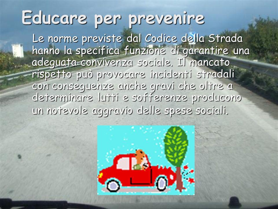 Educare per prevenire