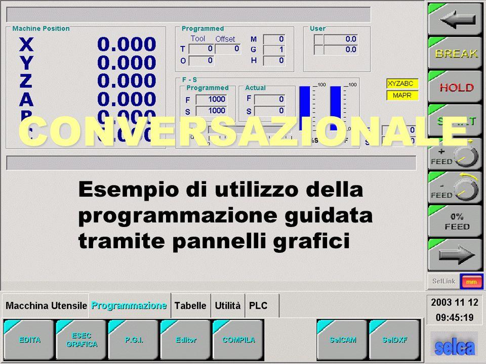 CONVERSAZIONALE Esempio di utilizzo della programmazione guidata