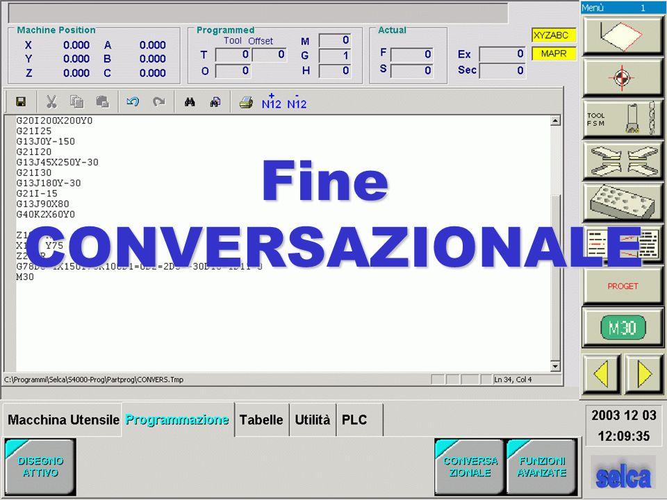 Fine CONVERSAZIONALE