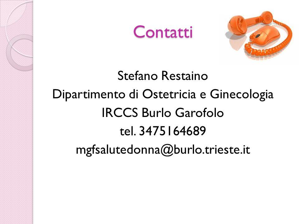 Dipartimento di Ostetricia e Ginecologia