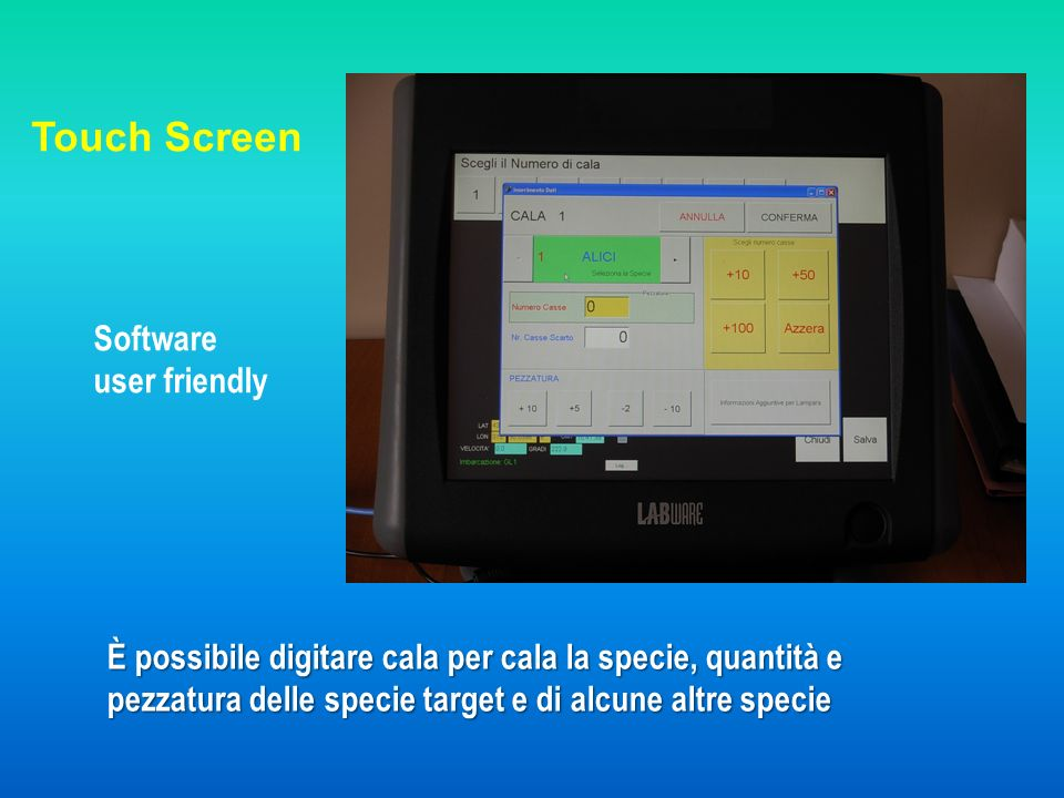 Touch Screen Software user friendly