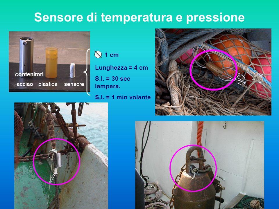 Sensore di temperatura e pressione