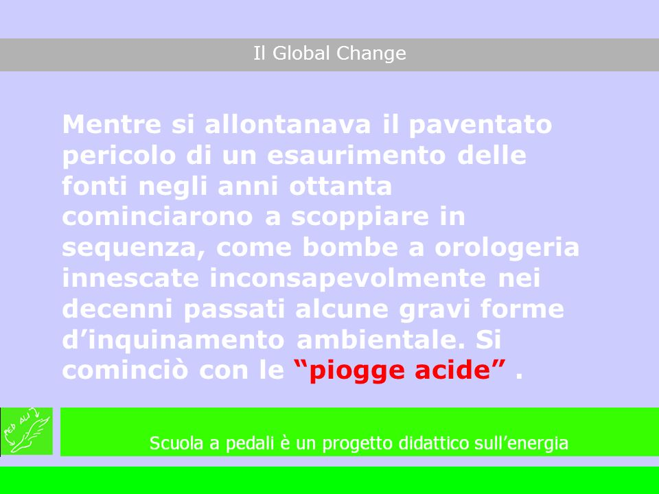 Il Global Change
