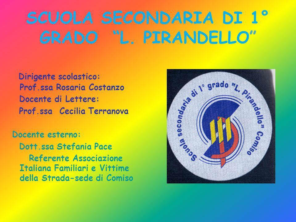 SCUOLA SECONDARIA DI 1° GRADO L. PIRANDELLO
