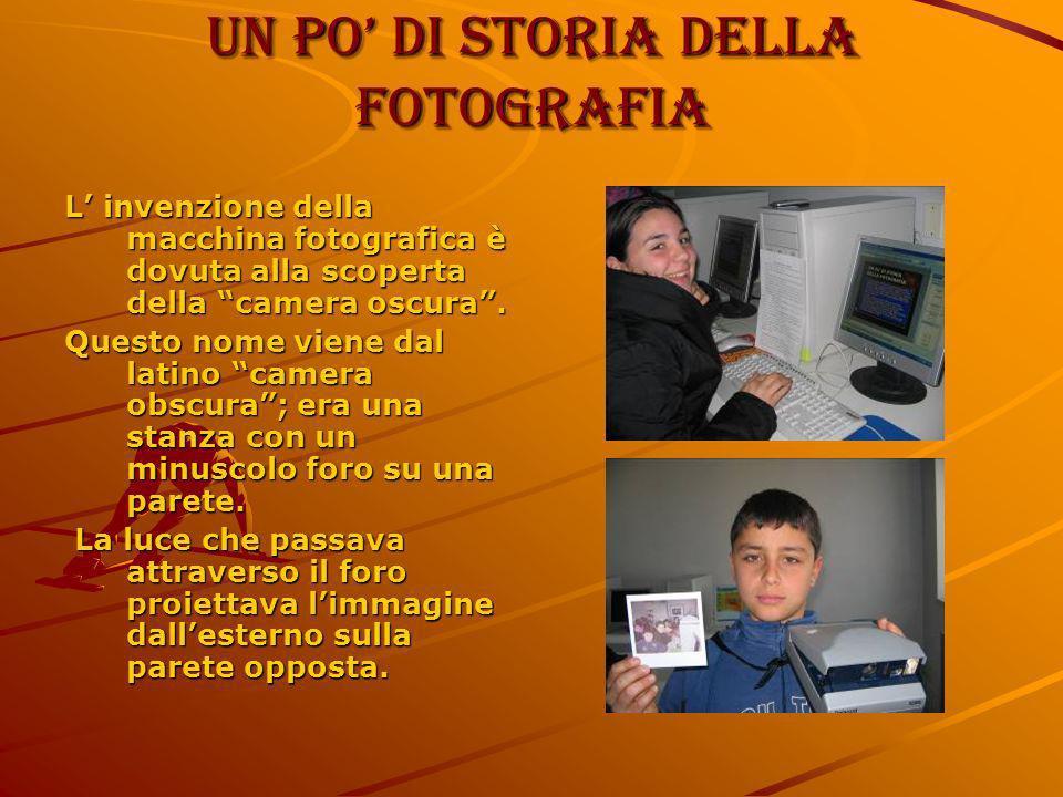 Un po' di storia della fotografia