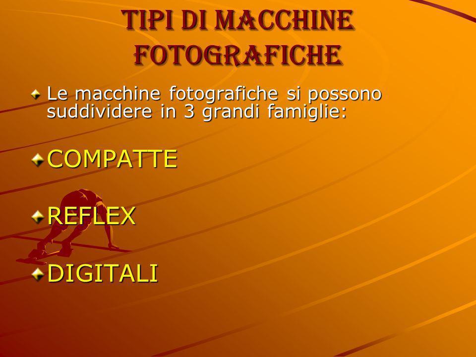 Tipi di macchine fotografiche