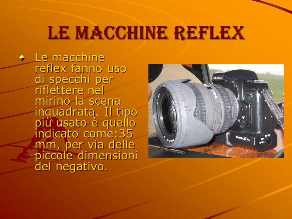 Le macchine reflex