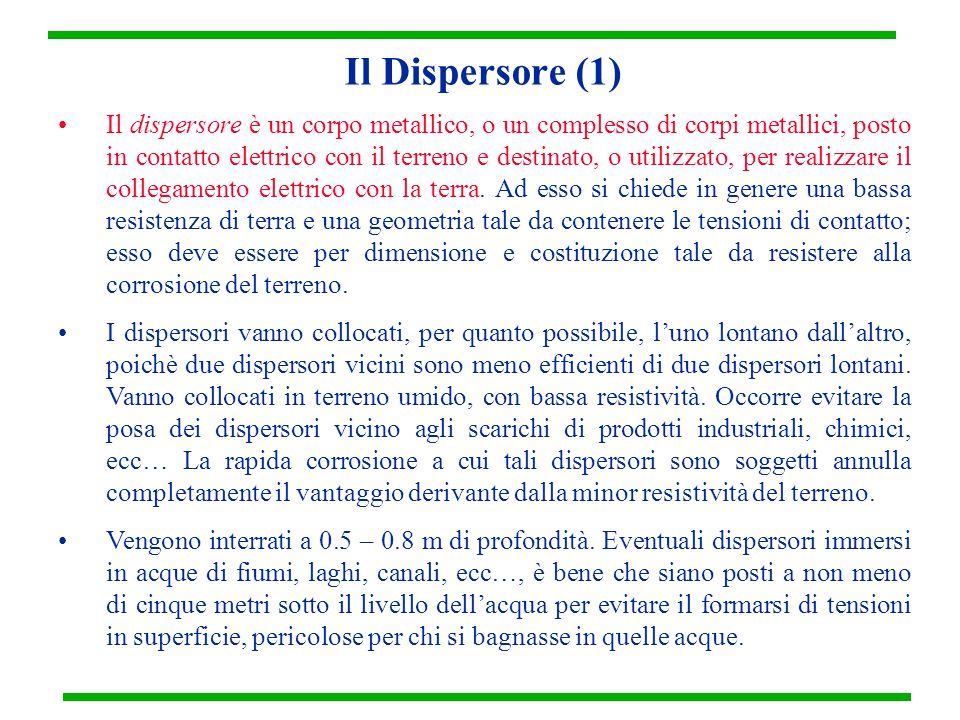 Il Dispersore (1)