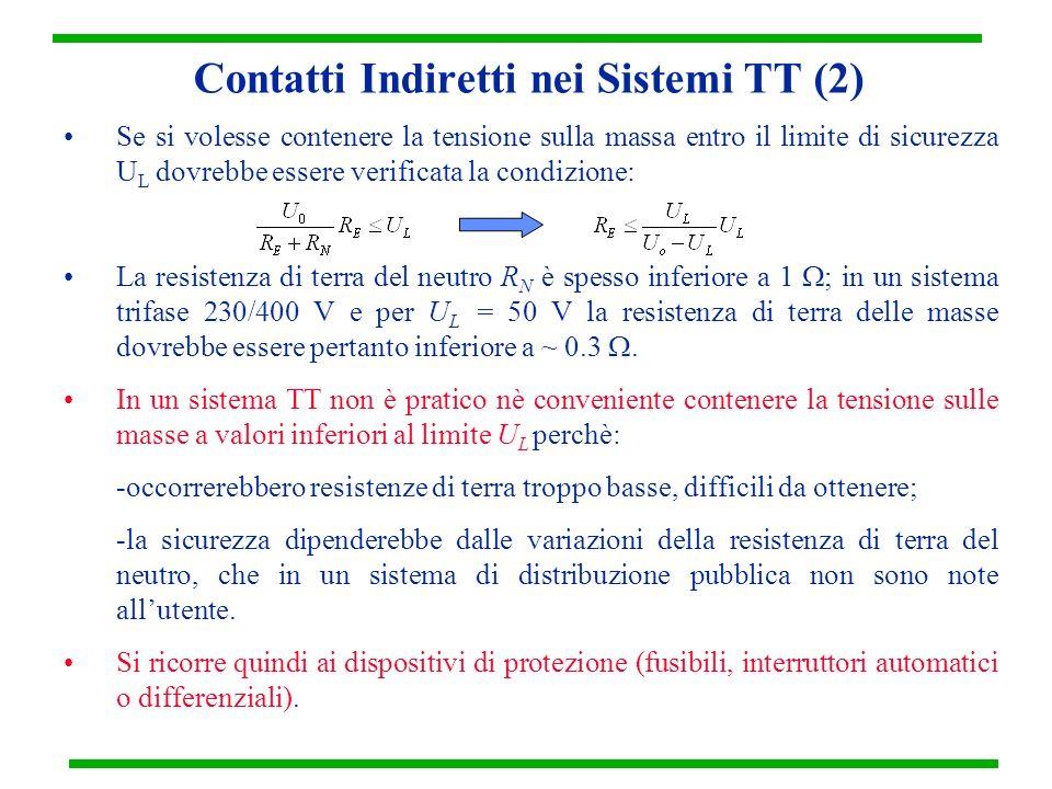Contatti Indiretti nei Sistemi TT (2)