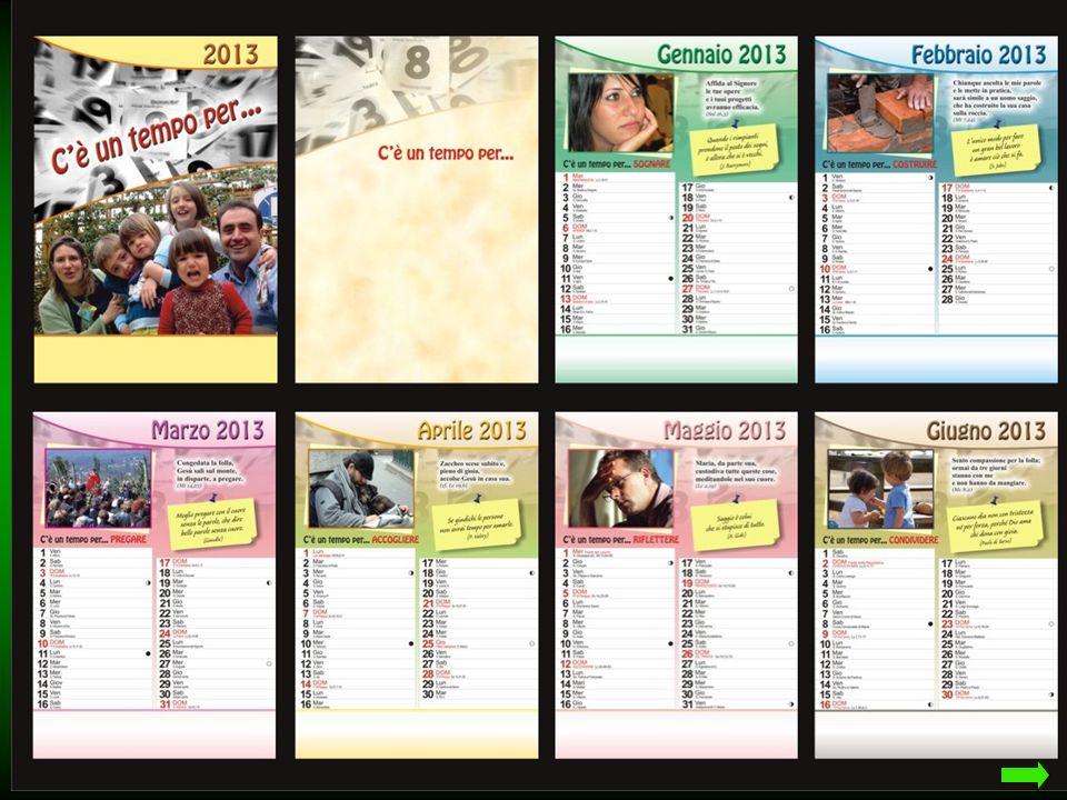 Ecco tutte le pagine del nostro Calendario