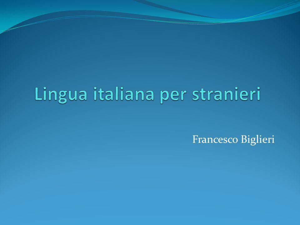 Lingua italiana per stranieri