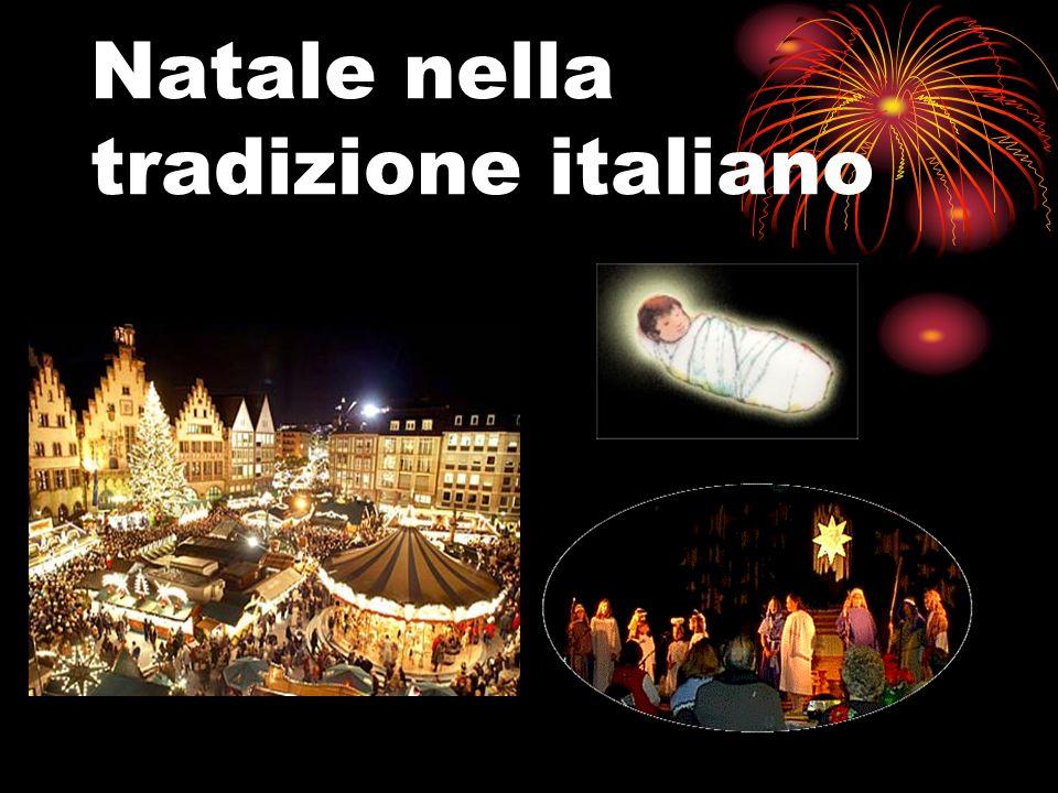 Natale nella tradizione italiano