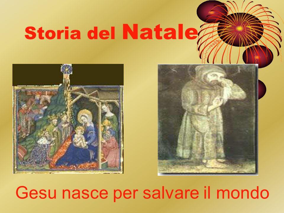 Storia del Natale Gesu nasce per salvare il mondo