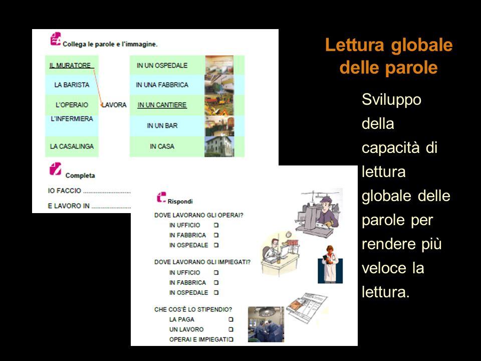 Lettura globale delle parole