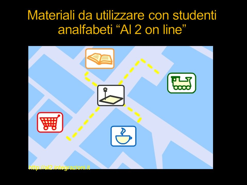 Materiali da utilizzare con studenti analfabeti Al 2 on line