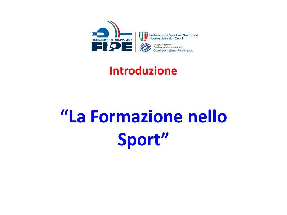 La Formazione nello Sport