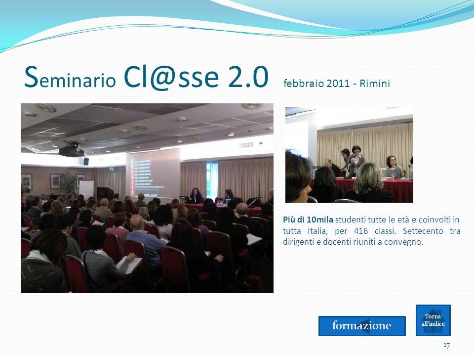 Seminario Cl@sse 2.0 febbraio 2011 - Rimini