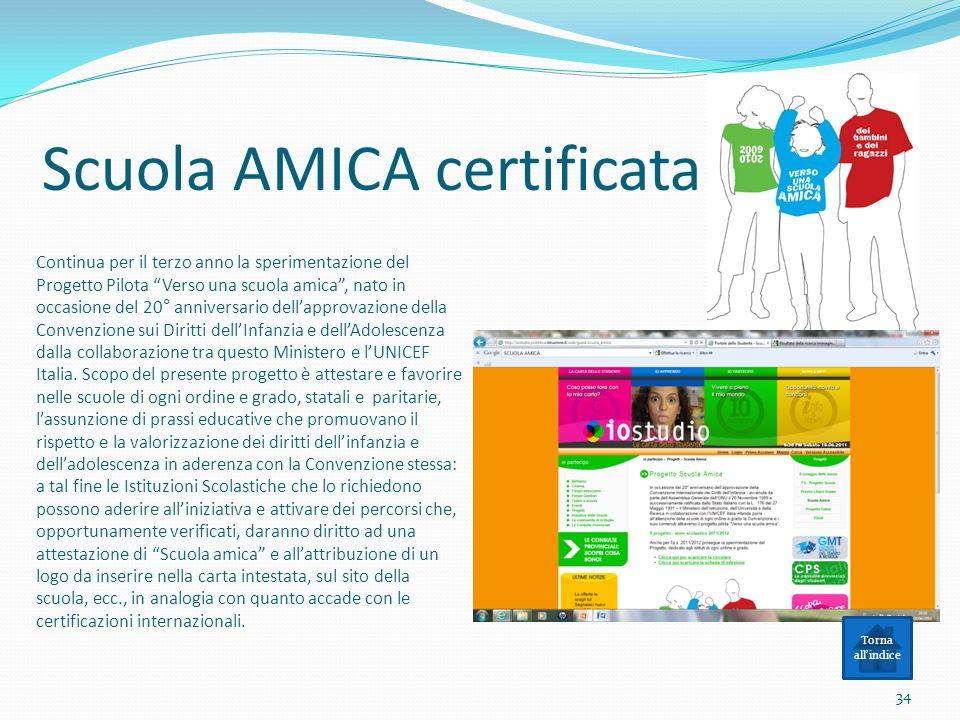 Scuola AMICA certificata