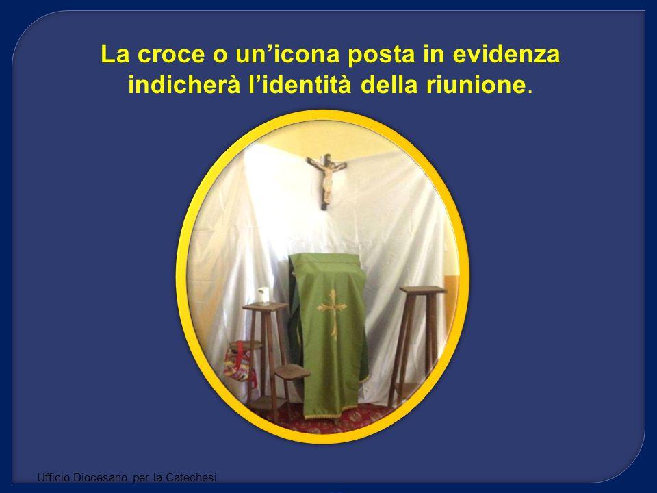 La croce o un'icona posta in evidenza