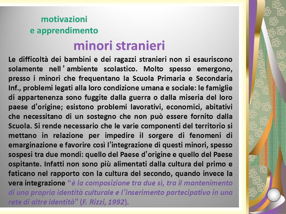 motivazioni e apprendimento