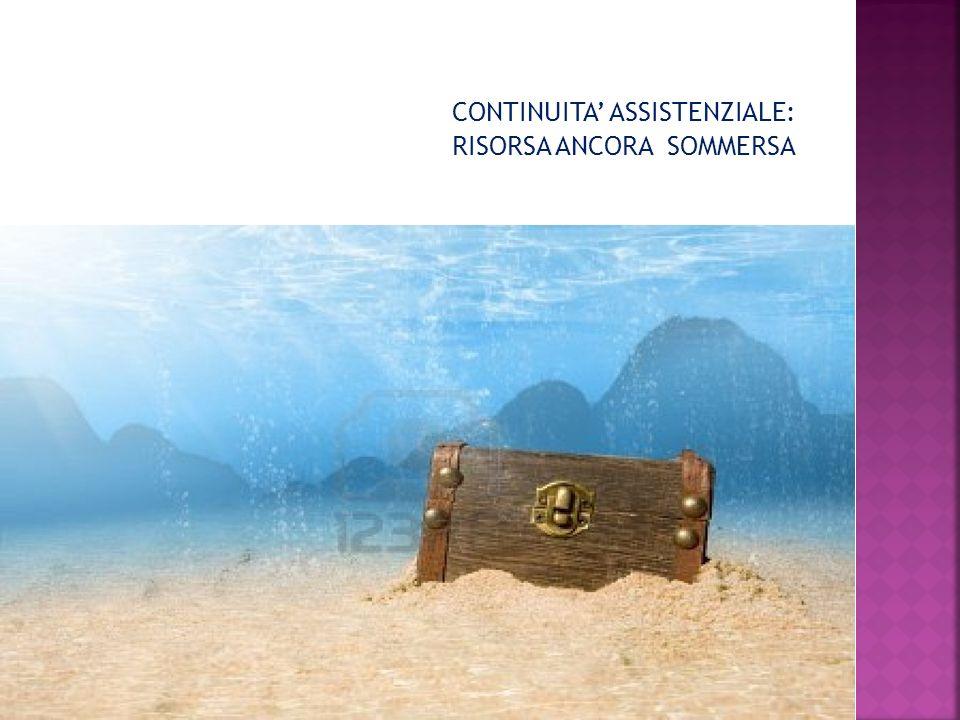 CONTINUITA' ASSISTENZIALE: RISORSA ANCORA SOMMERSA