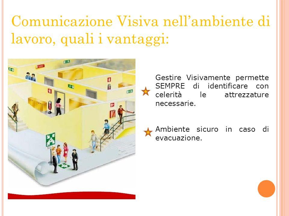 Comunicazione Visiva nell'ambiente di lavoro, quali i vantaggi: