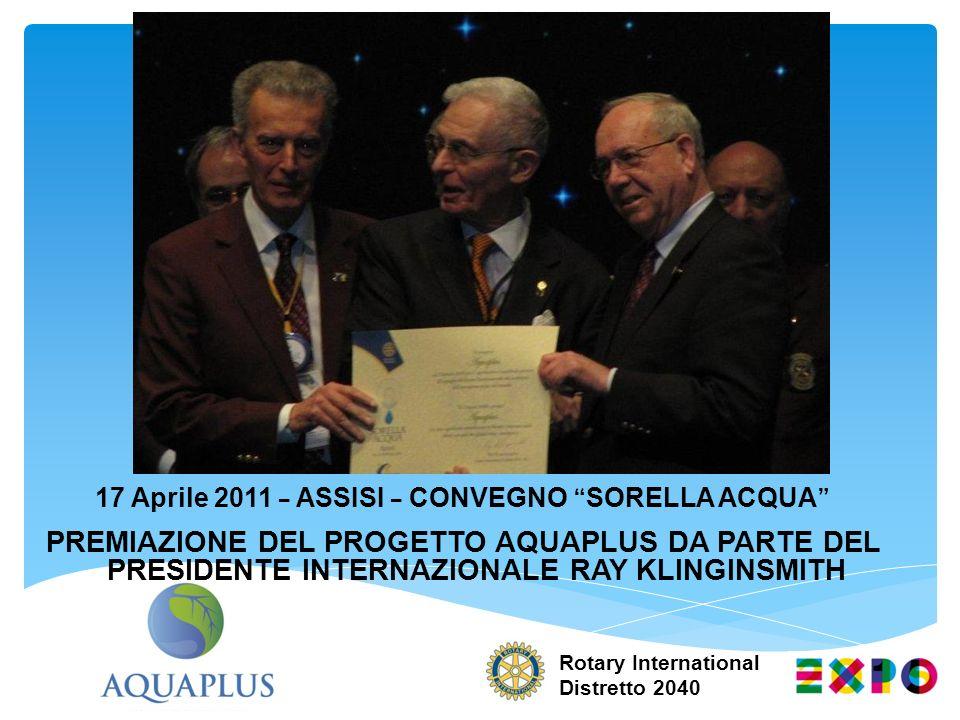 17 Aprile 2011 – ASSISI – CONVEGNO SORELLA ACQUA