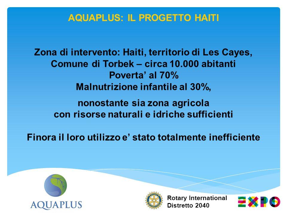 AQUAPLUS: IL PROGETTO HAITI