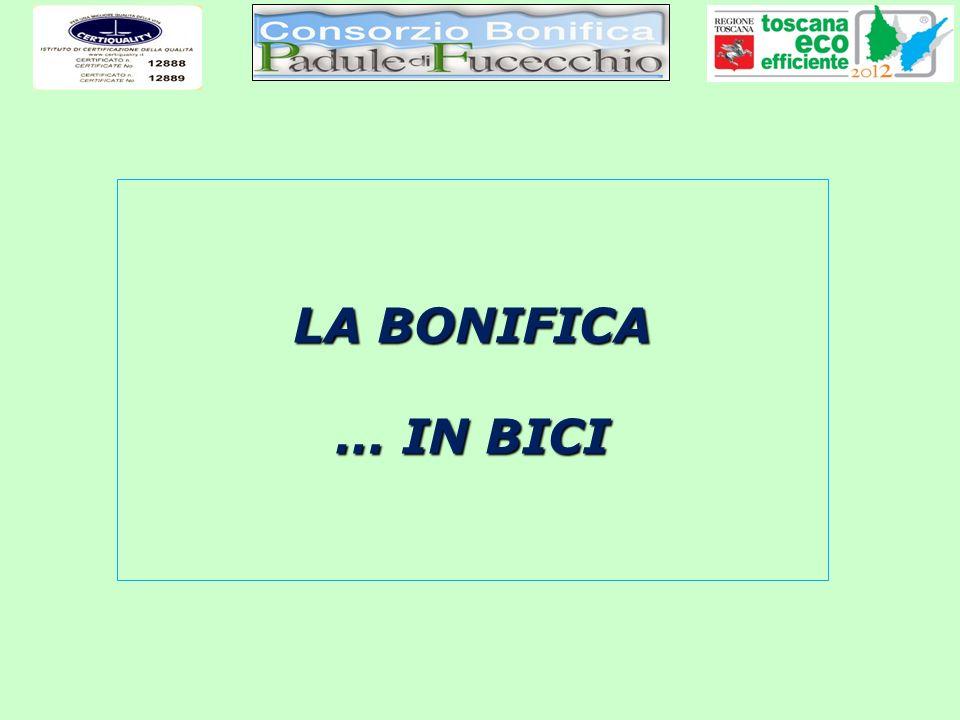 LA BONIFICA … IN BICI