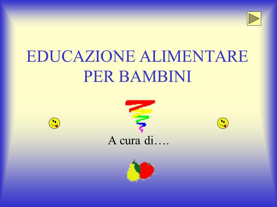 Amato EDUCAZIONE ALIMENTARE PER BAMBINI - ppt video online scaricare TF69