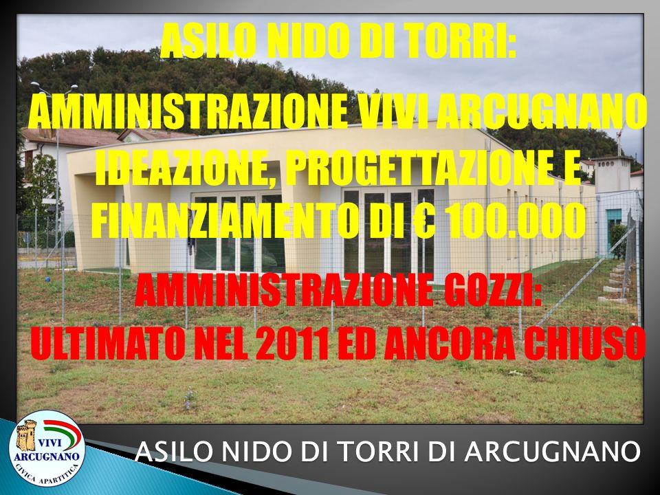 ASILO NIDO DI TORRI DI ARCUGNANO