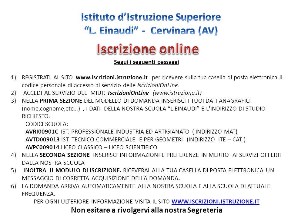 Istituto d'Istruzione Superiore L. Einaudi - Cervinara (AV)