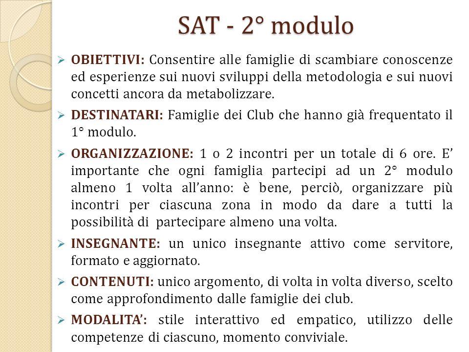 SAT - 2° modulo