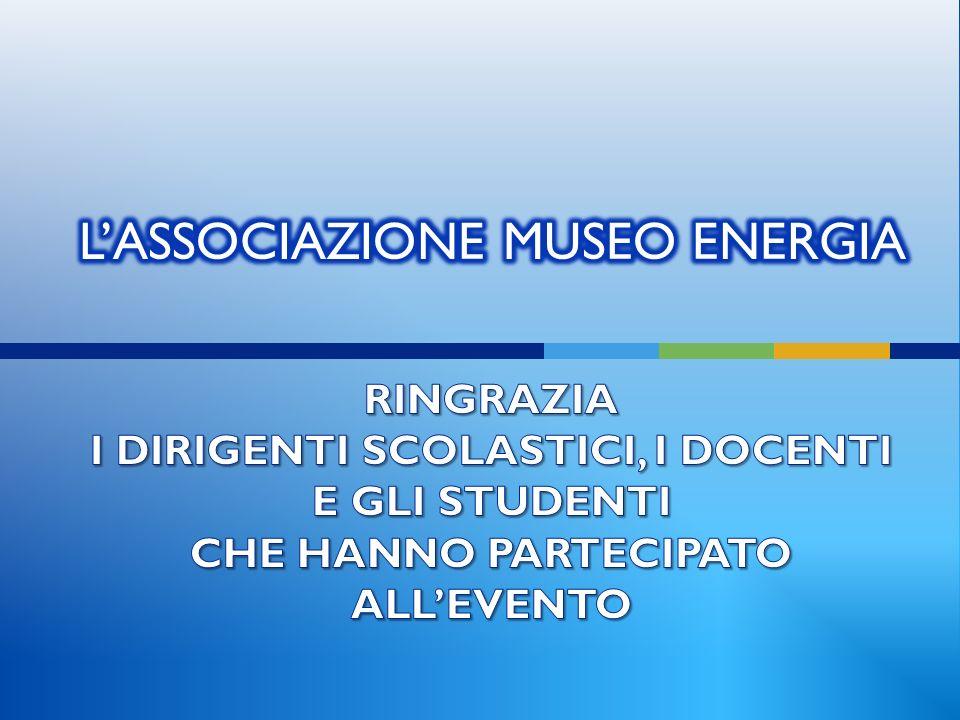 L'ASSOCIAZIONE MUSEO ENERGIA