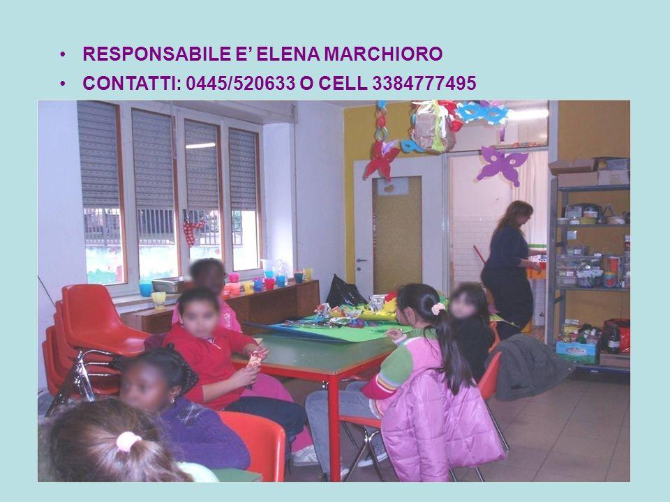 RESPONSABILE E' ELENA MARCHIORO