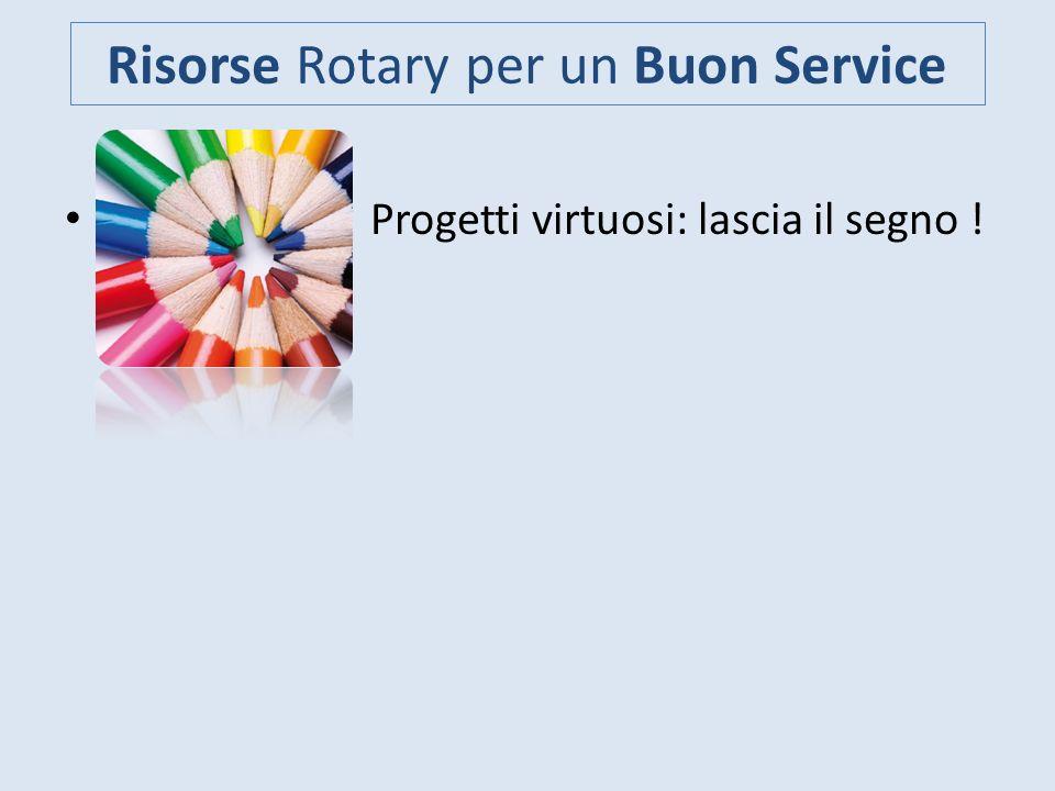 Risorse Rotary per un Buon Service