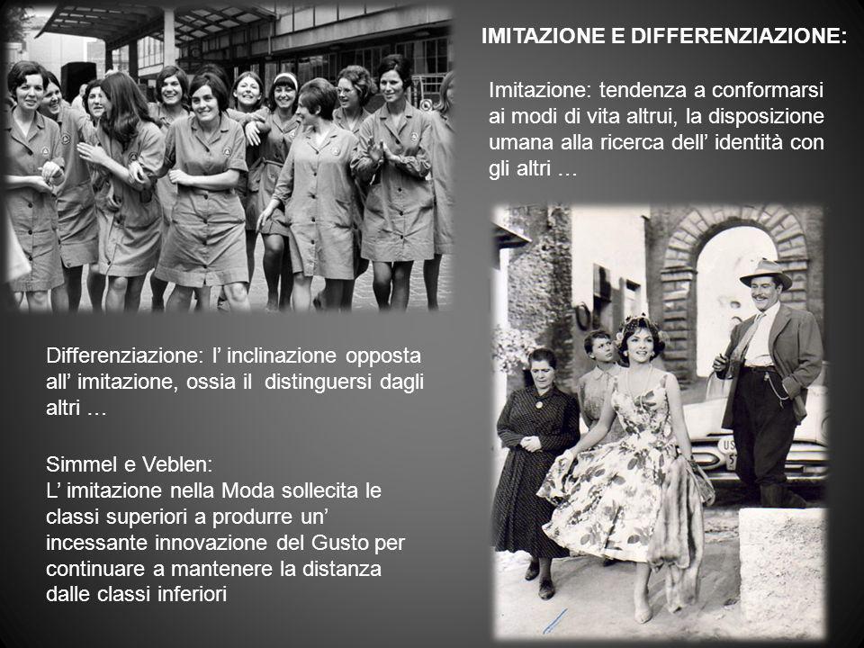 IMITAZIONE E DIFFERENZIAZIONE: