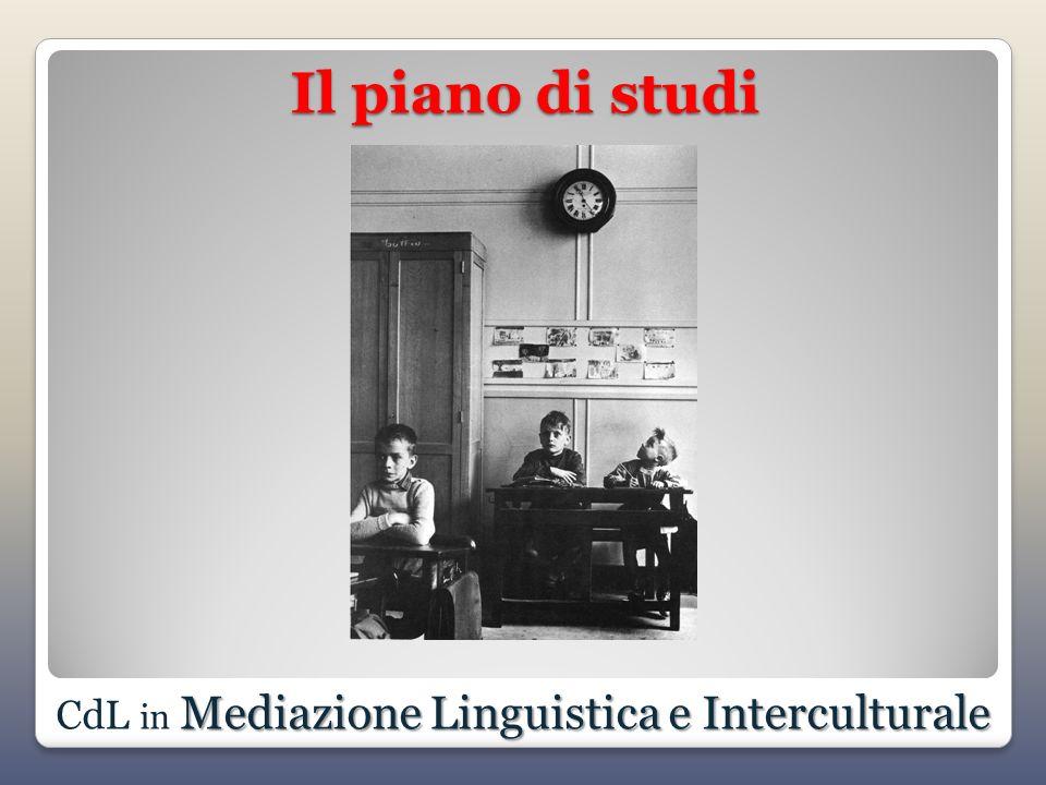 CdL in Mediazione Linguistica e Interculturale
