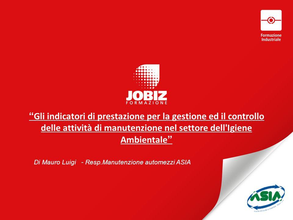 Di Mauro Luigi - Resp.Manutenzione automezzi ASIA