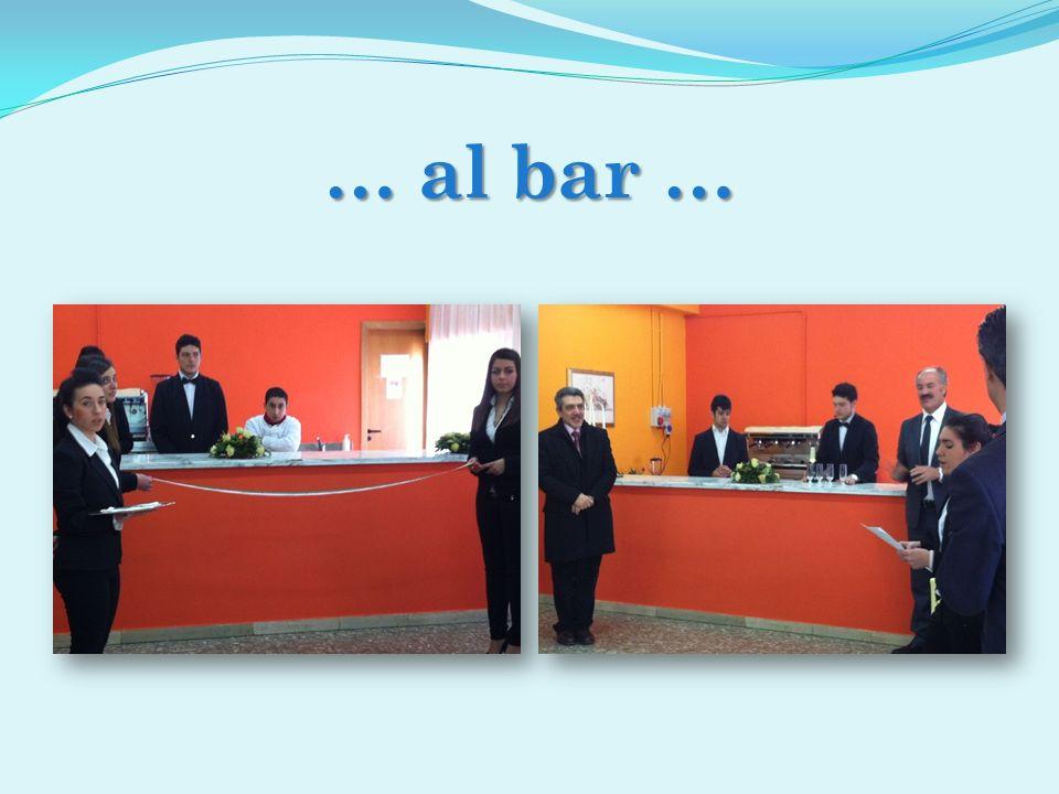 … al bar …