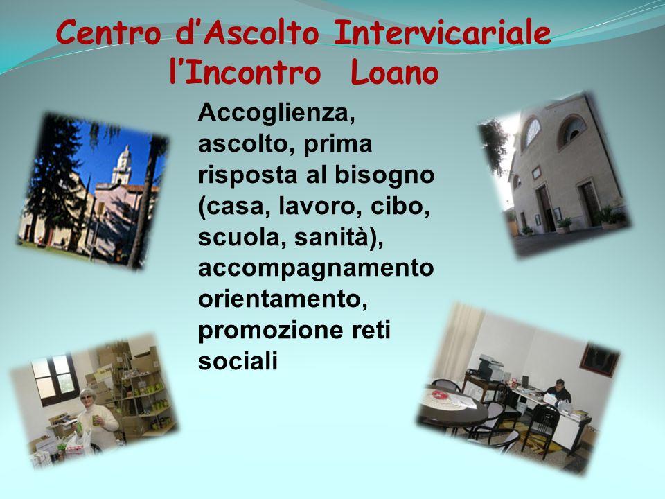 Centro d'Ascolto Intervicariale l'Incontro Loano