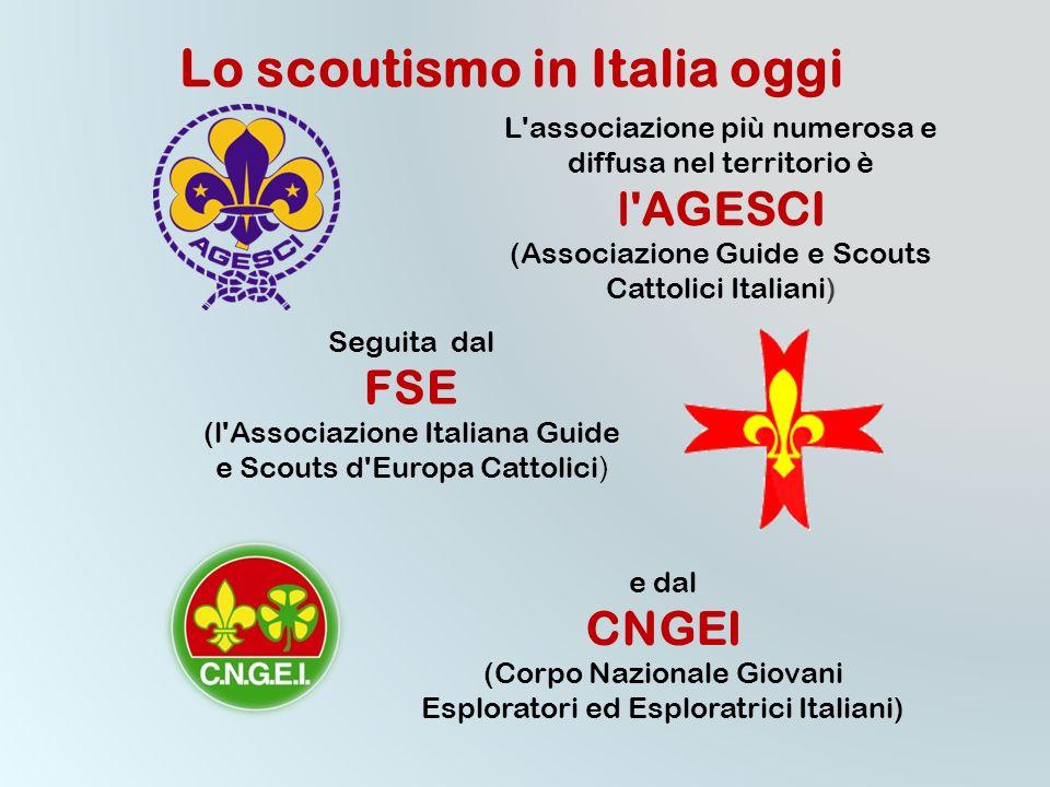 Lo scoutismo in Italia oggi